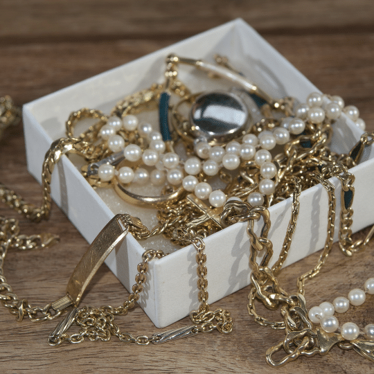 Asegurar tus joyas